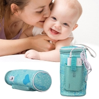 IMBABY USB Baby Bottle Warmer Heater Insulated Bag Car Heaters Drink Warm Milk Thermostat Bag Food Warmer Baby Food Pouch