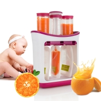 Baby Food Maker Baby Feeding Containers Storage Supplies Newborn Solid Food Powder Container Fresh Squeezed Fruit Juice Station