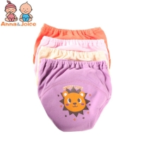 32pcs/Lot 4 Layers Training Pants Learning Pants Baby Cotton Underwear Shorts Diapers  Suit 5-15kg
