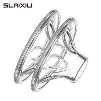 SLAIXIU Silicone pad Electric Breast Pump Accessories Silicone Mat Petal Silicone Breast Silicone Mat Nipple shield