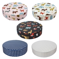 32*32*8cm Round Children Increased Chair Pad Adjustable Baby Furnitur Booster Removable Seat Portable Kids  Dining Cushion