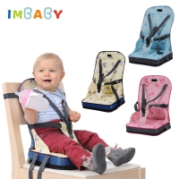 IMBABY Baby Dining Chair With Bag Collapsible Portable Children's Dining Chairs Booster Seat For Baby Feeding Chair  kids chair