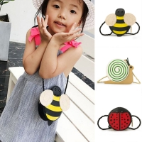 Cute Children Girl Bags Bee Ladybug Snails Baby Kid Girl's Crossbody Small Bag Messenger Wallet Hot