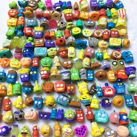 100Pcs/lot Popular Cartoon Anime Action Figures Toys HOT Garbage Doll The Grossery Gang Model Toy Dolls Kids Christmas Gift