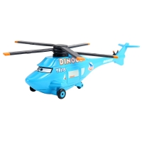 Cars Disney Pixar Cars Dinoco Helicopter The King No.43 Metal Diecast alloy Toy Car plane model for children Loose Brand Car 3