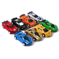New 4/8 Typies Creative Mini Pull Back Car Toy Speed Racing Vehicles Model Children Gifts