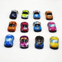 20pcs Pull Back Car Toys Car Children Racing Car Baby Mini Cars Cartoon Pull Back Bus Truck Kids Toys For Children Boy Gifts