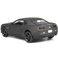 New Licensed Diecast Metal 1:36 Scale Car Model For The Chevrolet Camaro Collection Alloy Model Pull Back Toys Car Matte Black