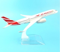 MAURITIUS AIRLINES 16CM A350-900 AIR MAURITIUS AIRWAYS METAL ALLOY MODEL PLANE AIRCRAFT MODEL TOY AIRPLANE BIRTHDAY GIFT
