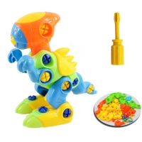 DIY Dinosaur Disassembly Assembly Toys Baby Kids Early Educational Blocks Toys With Assemble Screw Driver Nut Toys for Children