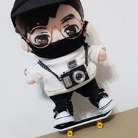 doll skateboard for 1/8 BJD got7 doll accessories 20cm doll use mask glasses