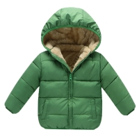 BibiCola  baby Boys Winter Coats Outerwear Fashion Hooded Parkas baby Jackets Thicken Warm Outer Clothing High Quality