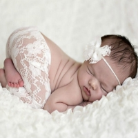 Newborn Photography Props Baby Girl Lace Romper Infant Photo Shoot Clothes Photo Props Baby Newborn Props Infant Photo shoot