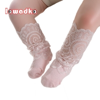 lawadka NewBorn Baby Girl Socks Tiny Cotton Infant Lace Socks for Little Girls Summer Cheap Stuff Sock Baby Accessories