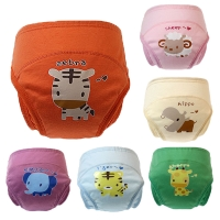 Baby Panties Cloth Cartoon Diapers Leak-Proof Infant Underwear Training Panties Child's Underwear Briefs for Girls Newborn Panty